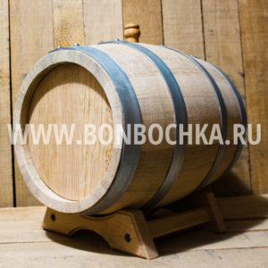 Дубовая бочка 10л для вина коньяка и виски