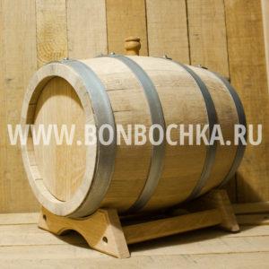 Дубовая бочка 15л для вина коньяка и виски
