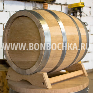 Дубовая бочка 30л для вина коньяка и виски