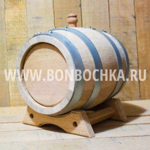 Дубовая бочка 5л для вина коньяка и виски
